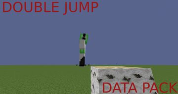DOUBLE JUMP DATA PACK! Minecraft Data Pack