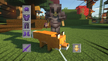 better_fox - Equip Fox with Weapons, Armors and Enable Teleportation Minecraft Data Pack