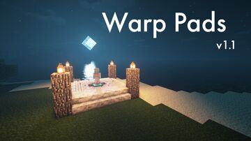 Warp Pads Minecraft Data Pack