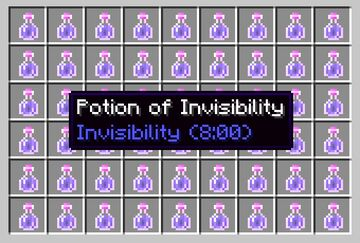 Disable Invisibility Particles Minecraft Data Pack