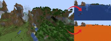 Flood Survival Challenge Minecraft Data Pack