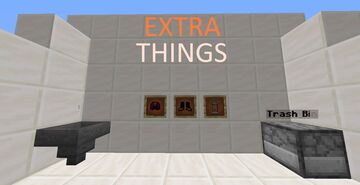 Extra Things V1.2 ( Lava Tank and more..) Minecraft Data Pack