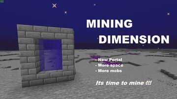 Mining Dimension Minecraft Data Pack