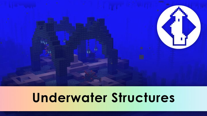 And even spawn structures Underwater.