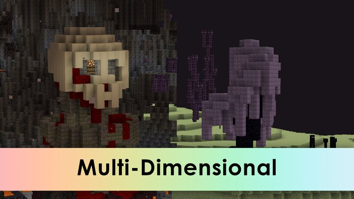 Spawn in other Dimenions. And custom dimensions too.