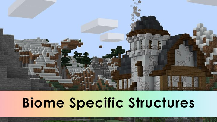 Make structures spawn in specific biomes.