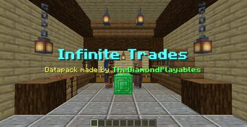 Infinite Trades[1.16x] - No Trading Limits! Minecraft Data Pack