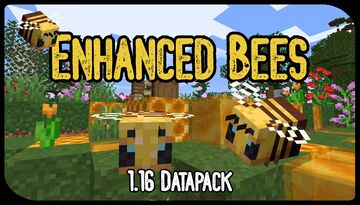 Enhanced Bees! QUEENS, Larvae, and Bee Related Recipes! [VERSION 2.0 UPDATE!] Minecraft Data Pack