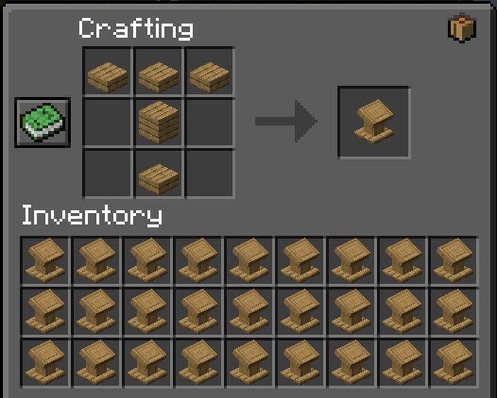 Bookless Lecterns Recipe S Minecraft Data Pack