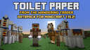 Wandering Toilet Paper Salesman for Minecraft 1.15 Minecraft Data Pack