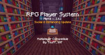 RPG Player System 1.4.2 Social&Distancing [1.13-1.17 Compatible] Minecraft Data Pack