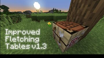 CC's Improved Fletching Tables v1.3 (Custom GUI, Reworked Recipes, Custom Arrows!) Minecraft Data Pack