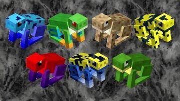 Minecraft Frogs! Minecraft Texture Pack