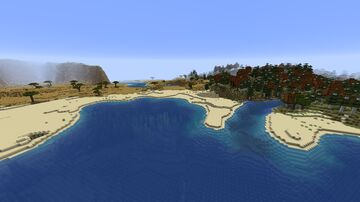 DISCONTINUED - Sand Dune Beaches add-on Minecraft Data Pack