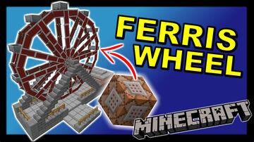 Working Ferris Wheel Minecraft Data Pack