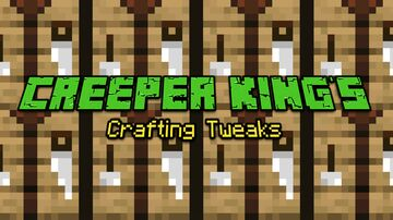 Creeper King's Crafting Tweaks Minecraft Data Pack