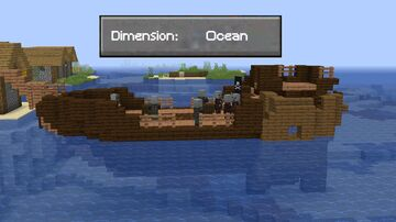 Ocean Dimension Datapack 1.16 Minecraft Data Pack