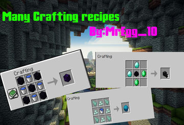 Many Recipes Minecraft Data Pack