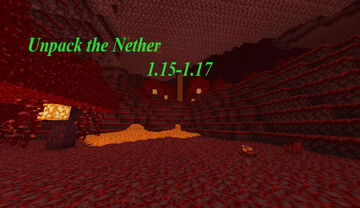Unpack The Nether Minecraft Data Pack