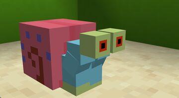 Gary The Snail (Sponge Bob) Minecraft Data Pack