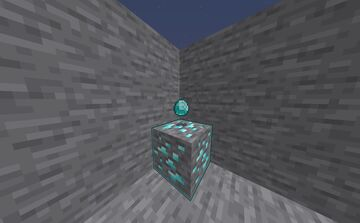 First with diamond Minecraft Data Pack