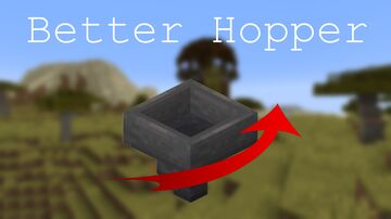 Better Hopper [DataPack] Minecraft Data Pack