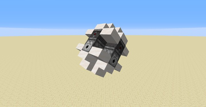 Weird build to show stairs and slabs and observers etc being faced correctly despite being on an armor stand uses resource pack