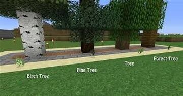 Self Planting Trees (Working All Versions) Minecraft Data Pack