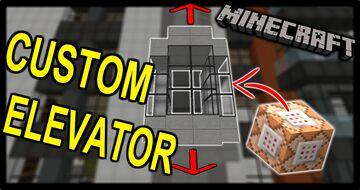 Custom Elevators Minecraft Data Pack