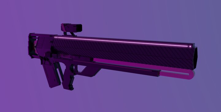 Custom Graviton Lance Model