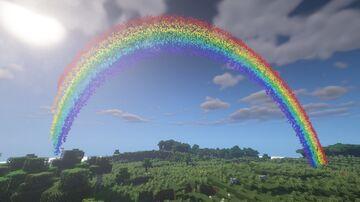 Rainbows&Beams Datapack Minecraft Data Pack