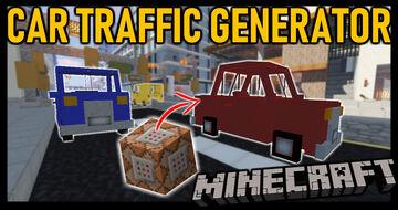 Car Traffic Generator Minecraft Data Pack