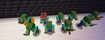 Tougher Zombies FULL RELEASE Minecraft Data Pack