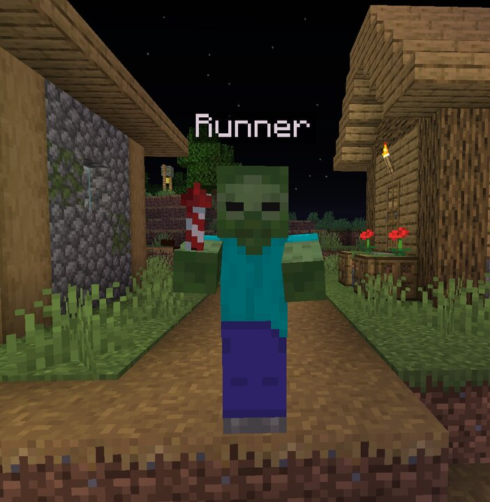 The Runner gets a boost from the firework in his hand
