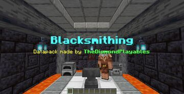 "Blacksmithing[1.16x] - Removes ""Too Expensive"", Repair and Recycle Anvils! Minecraft Data Pack"