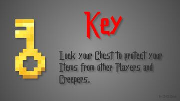 Key (Lock Chests) Minecraft Data Pack