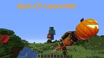 Jack-O'-Launcher in Vanilla Minecraft Minecraft Data Pack