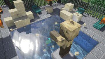 Wash Husks to get Sand Minecraft Data Pack