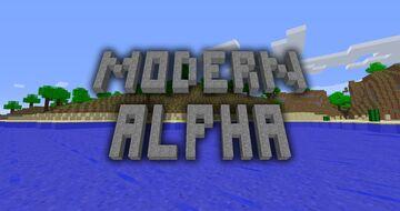 Modern Alpha [1.16.5] -- Return to greener pastures in modern Minecraft! Minecraft Data Pack