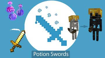 Potion Swords - Gamemode 4 Module Minecraft Data Pack