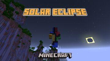 The Solar Eclipse - Minecraft Datapack Minecraft Data Pack