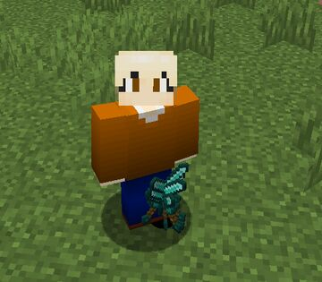 You have to curl up to get it. Minecraft Data Pack