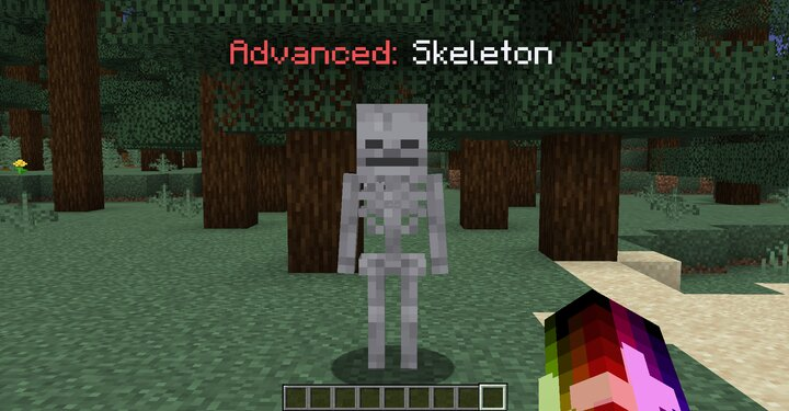 An advanced skeleton.