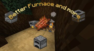 Better Furnace and More V0.1.3 Minecraft Data Pack