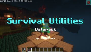 Survival Utilities v.3 Minecraft Data Pack