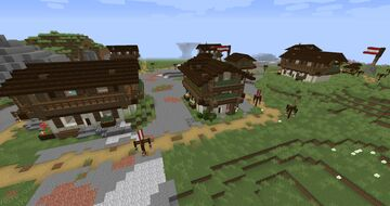 Mountain Villages (New Structure, No Replacements!) Minecraft Data Pack