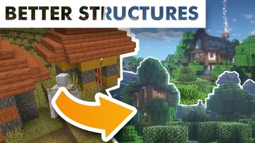 Bitpack CustomStructures Minecraft Data Pack