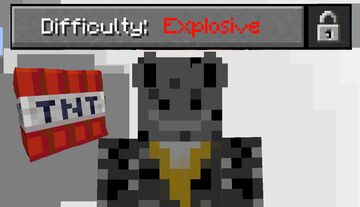 Explosive Difficulty Datapack Minecraft Data Pack