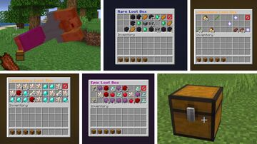 Loot Boxes Datapack Minecraft Data Pack