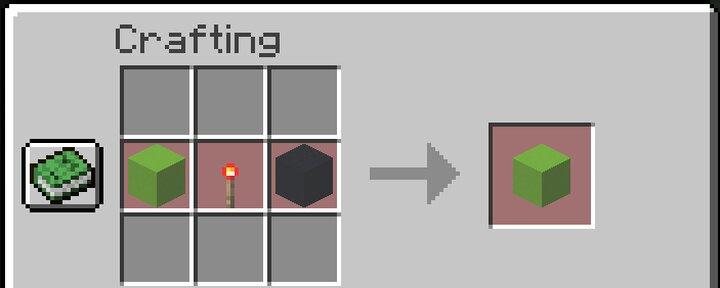 Recipe for cursor blocks
